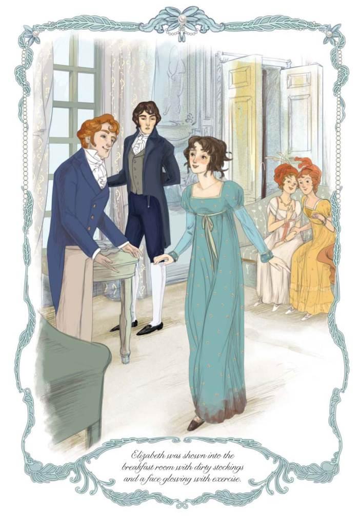 Jane Austenpara mais jovens