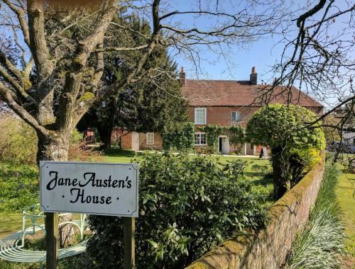 Visitando a casa de Jane Austen