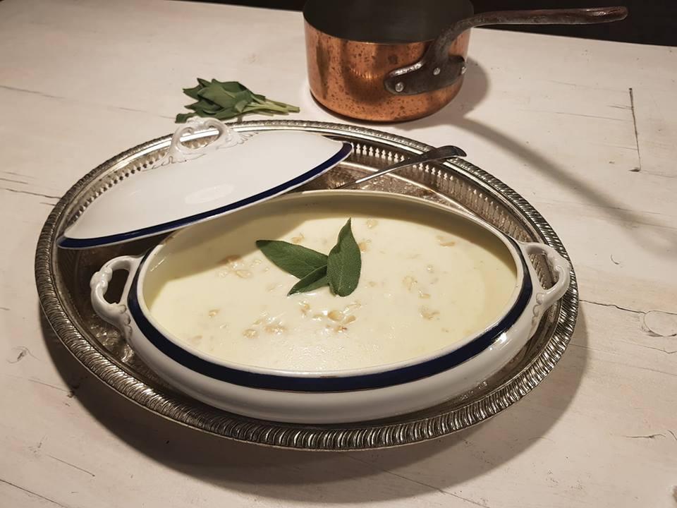 Dine like Jane Austen Menu White Soup