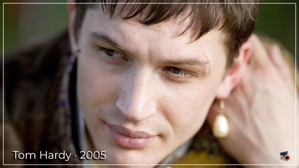Tom Hardy em 2005