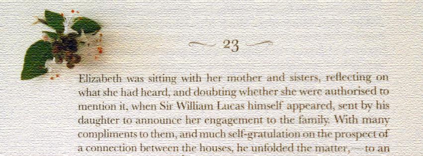 Elizabeth Bennet e manjericão
