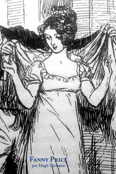 Fanny Price por Hugh Thomson