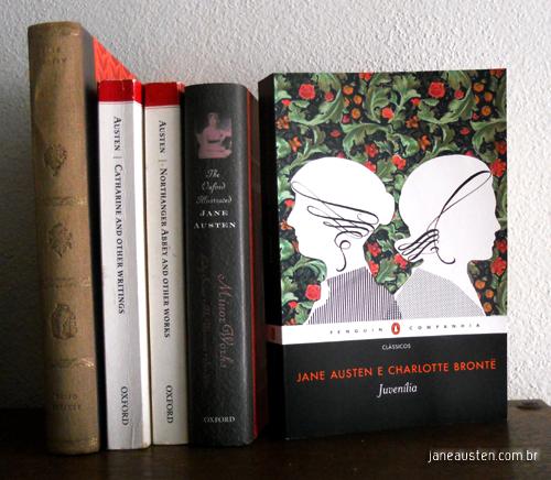 Juvenília de Jane Austen e Charlotte Brontë