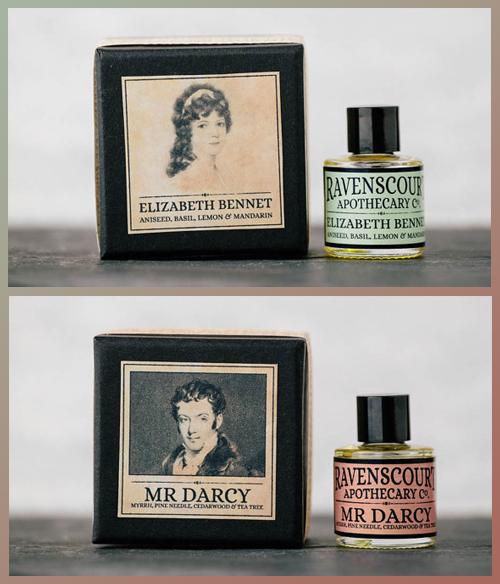 Perfumes, Elizabeth & Darcy - Ravencourt Apothecary