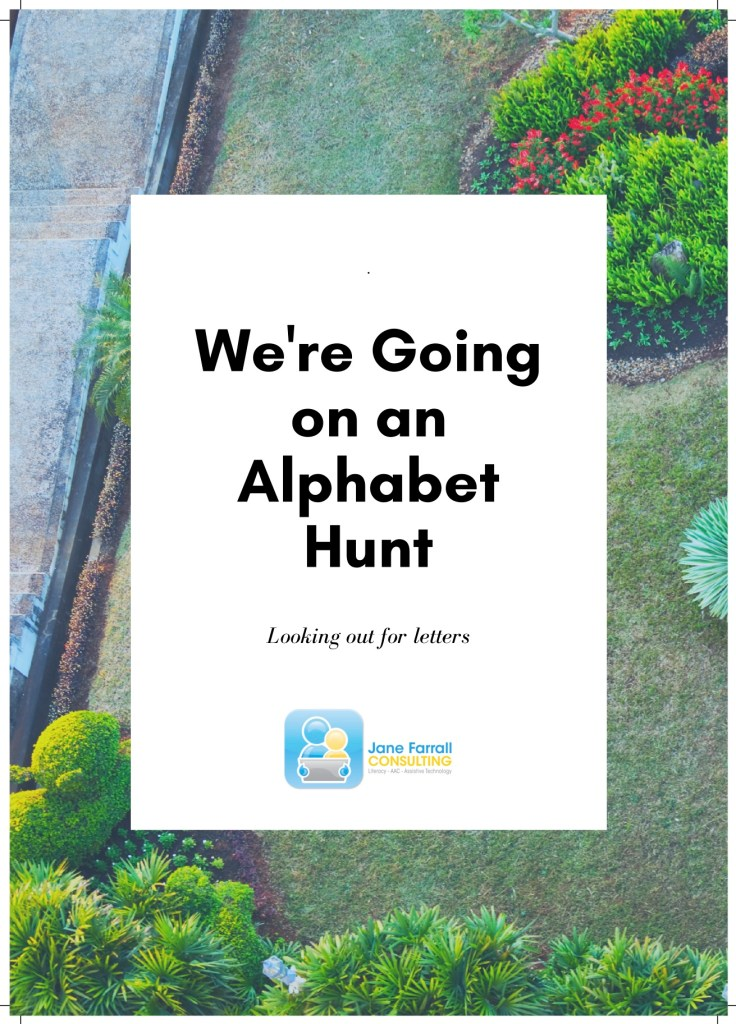 We're Going on an Alphabet Hunt
