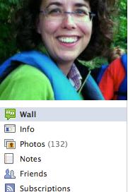 Jane's Facebook profile