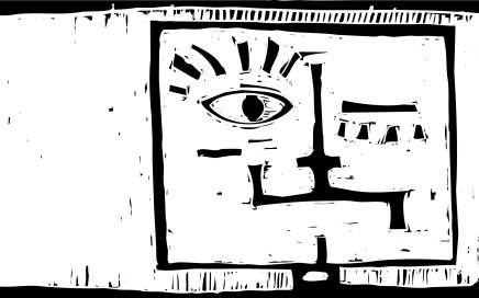 Janus: One hairy eyeball on 2012. (iStockphoto / xochicalco)