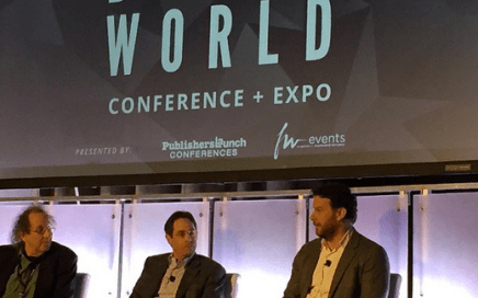 Digital Book World 2015 panel with Russ Grandinetti of Amazon
