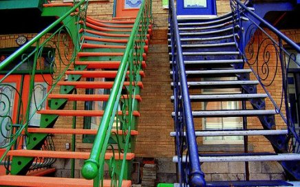 Stairway by Luba M. via Flickr