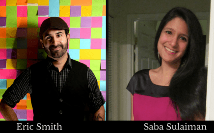 Eric Smith and Saba Sulaiman