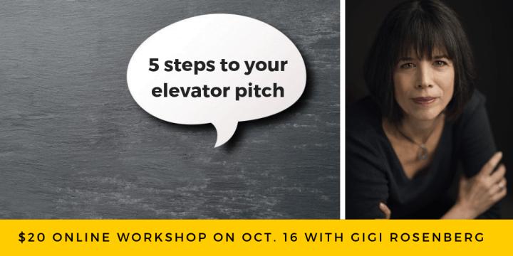 Gigi Rosenberg 5 Steps to Elevator Pitch