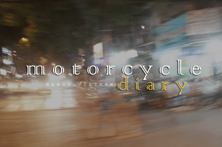 motorcycle diary