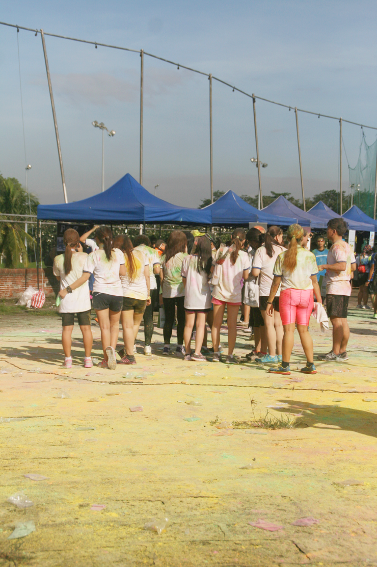 color blast run 6