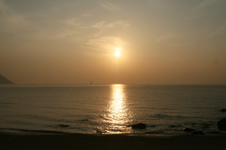 sunrise haeundae beach busan korea 13