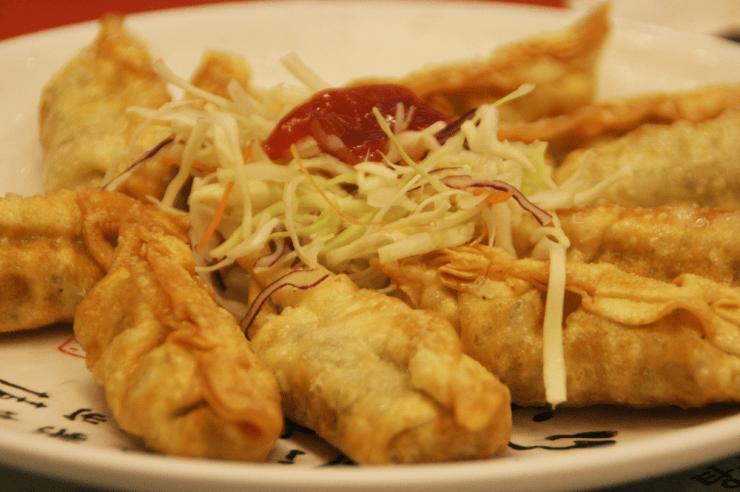 fried mandu