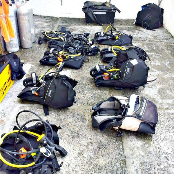 padi-casa-bahia-diving-gear