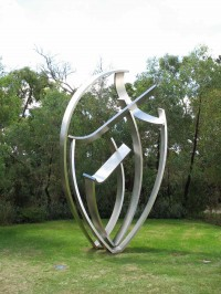 curved sculpture