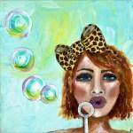 Leopard Print Bow Girl