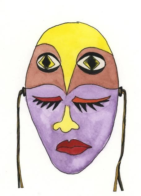 Masks we wear: owl eyes