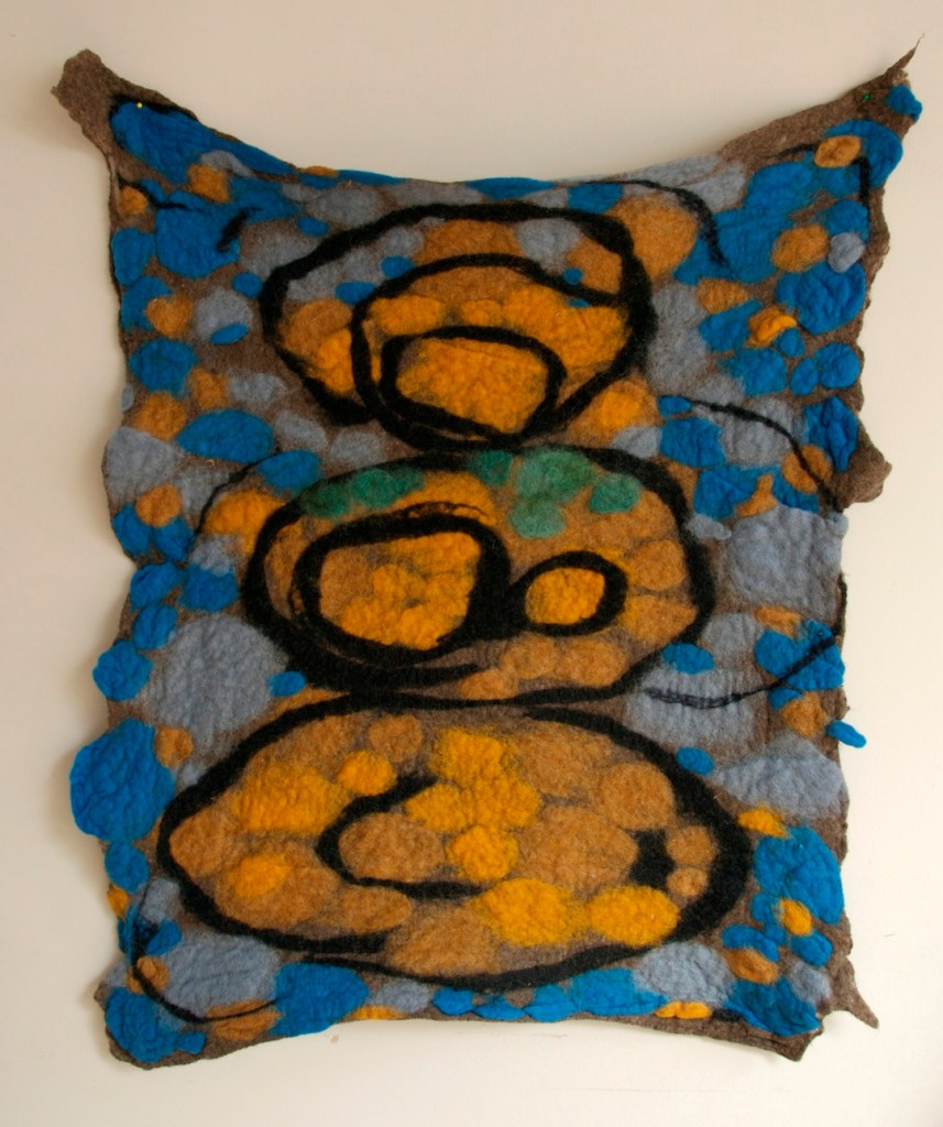 felting by Louise Hardy