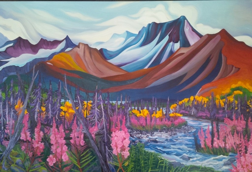Mt. Itsi Queen of the Canol by Emma Barr