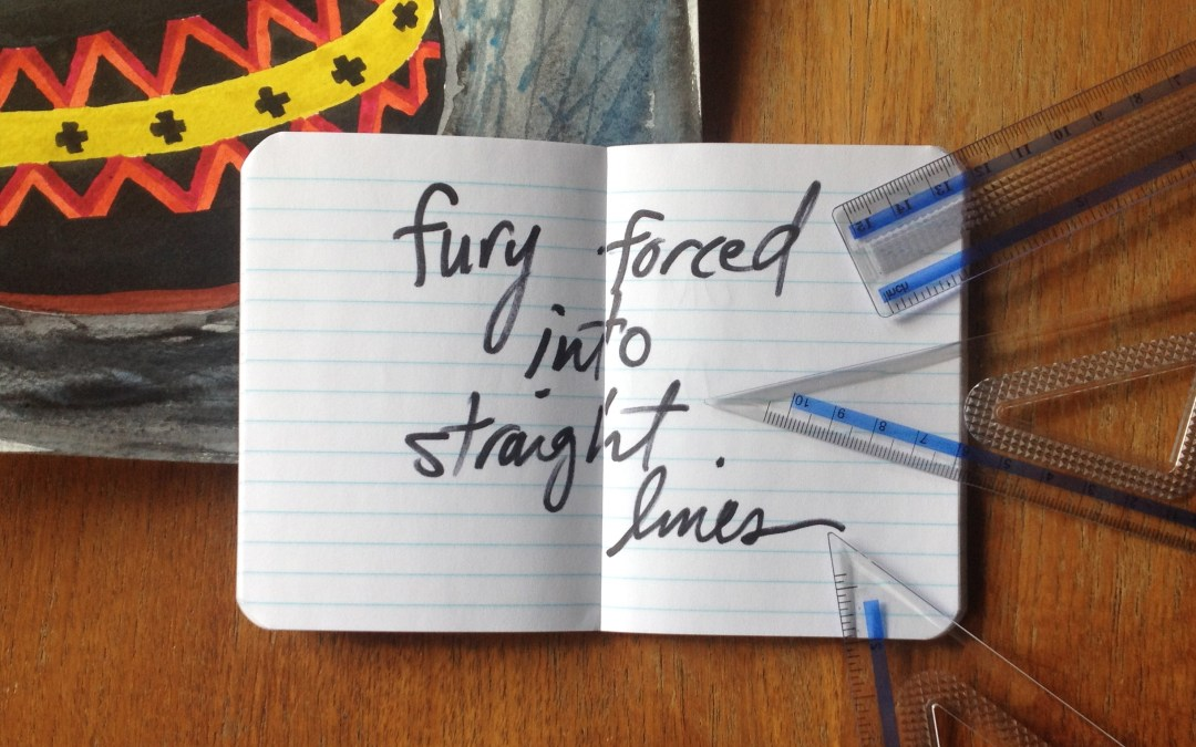 fury forced into straight lines