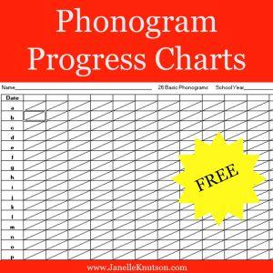 Phonogram Progress Charts {FREE}