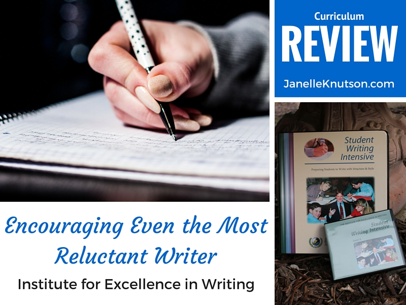 Institute for Excellence in Writing REVIEW