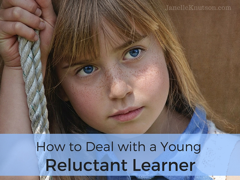 How to Deal with a Young Reluctant Learner