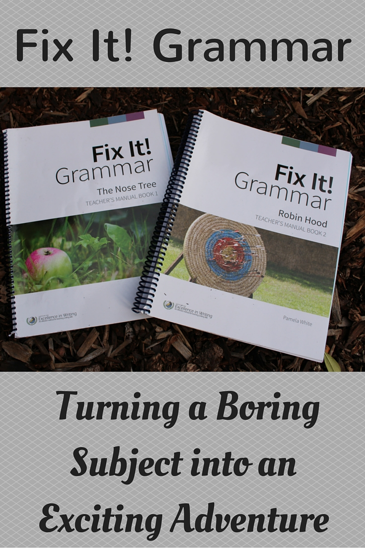Fix It Grammar! turns a boring subject into an exciting adventure as students hunt for errors to correct in daily passages that are part of a fun story.
