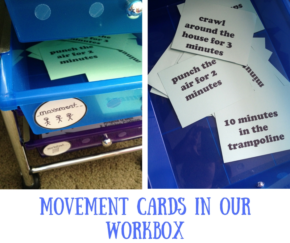 movement cards in our workbox