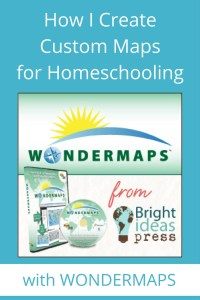 Wondermaps: An Easy Way to Create Maps for Your Homeschool