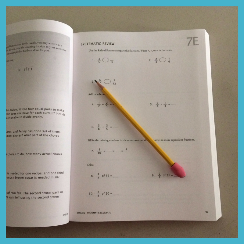 No need to do every Math-U-See worksheet.
