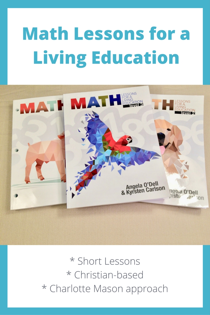 Take a look inside Math Lessons for a Living Education.