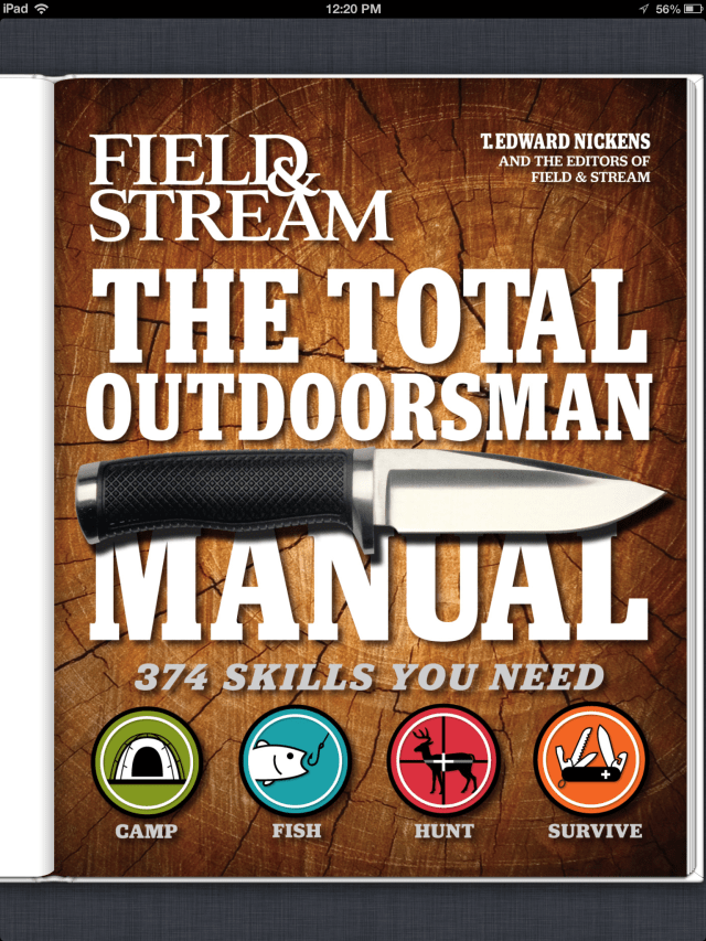 The Total Outdoorsman Cover for Trailer Park Publishing