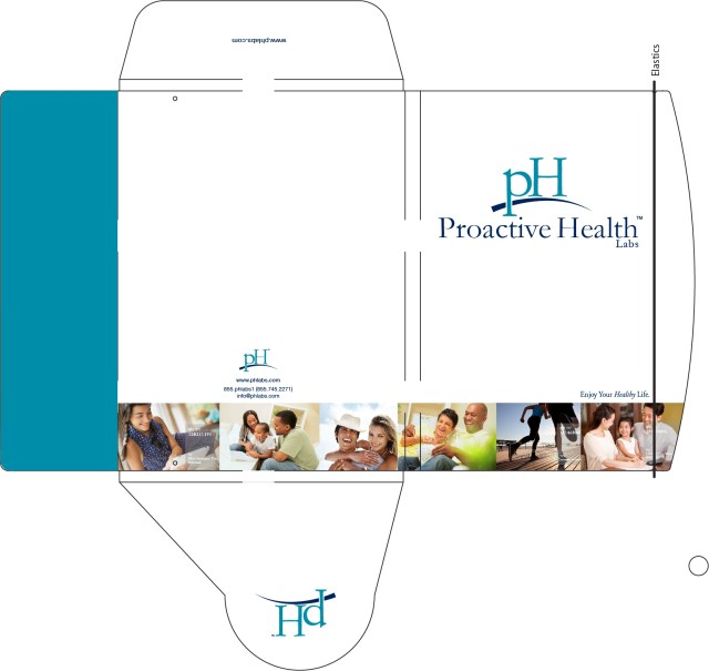 Custom Design Press Kit Illustration for Proactive Health