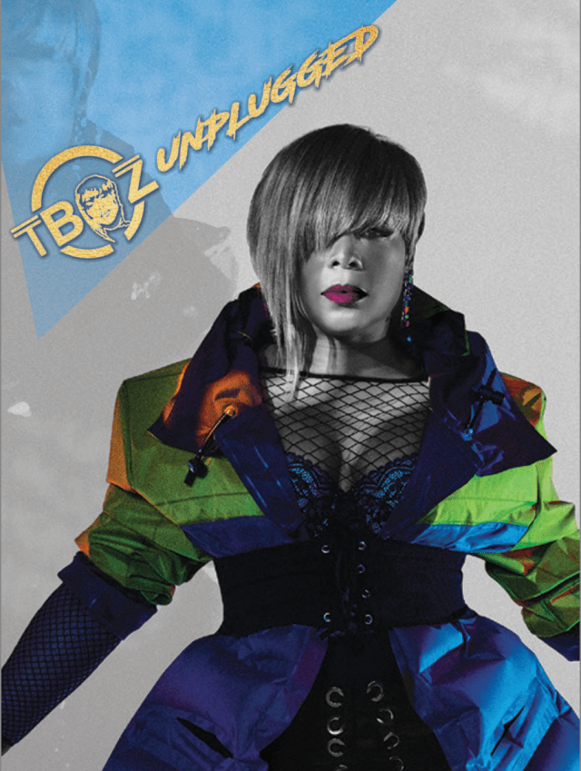 Poster for T-Boz Unplugged graphics poster design
