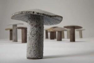 jane muir ceramics mushroom