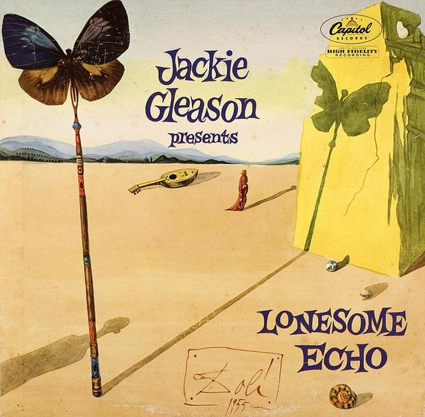 #ohboa, original hits by original artists, album cover, salvador dali, jackie gleason, vinyl