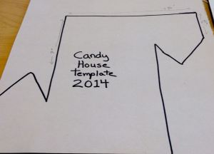 candy house template