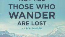 no all who wander