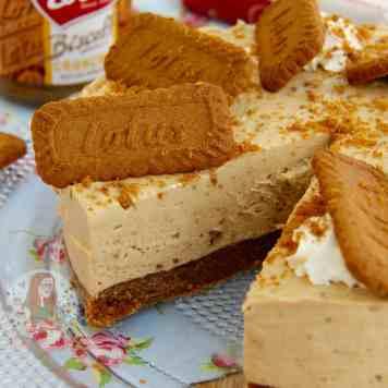 Lotus Biscoff Cheesecake
