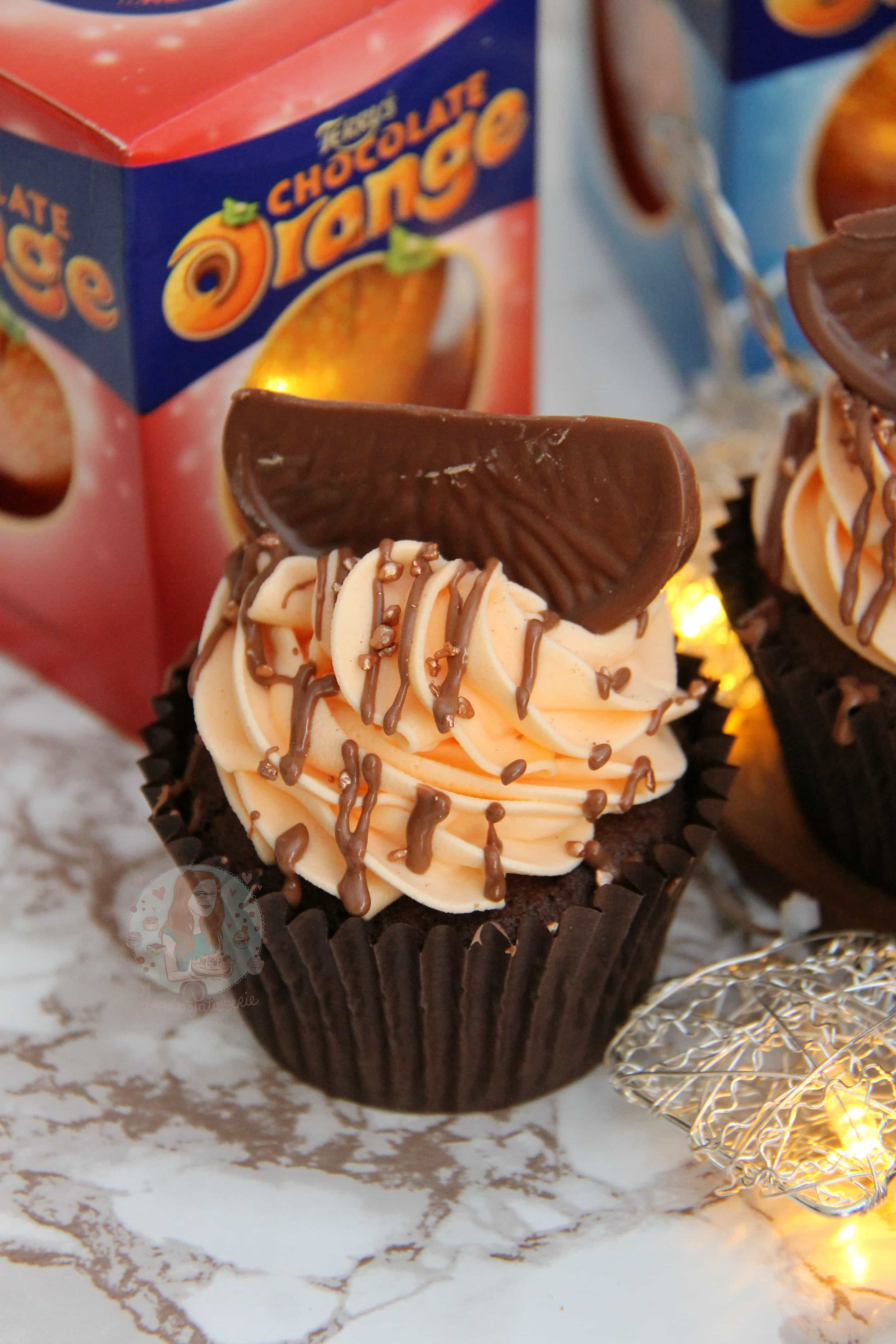 Terry's Chocolate Orange Cupcakes! - Jane's Patisserie