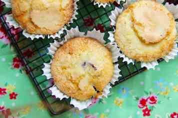 Lemon & Blueberry Muffins