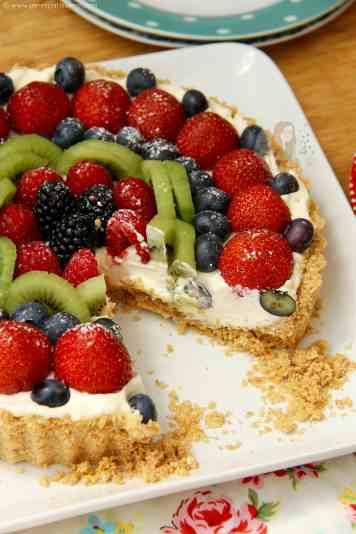 Easy Fruit Tart