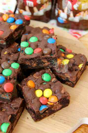 M&M Cookie Bars!