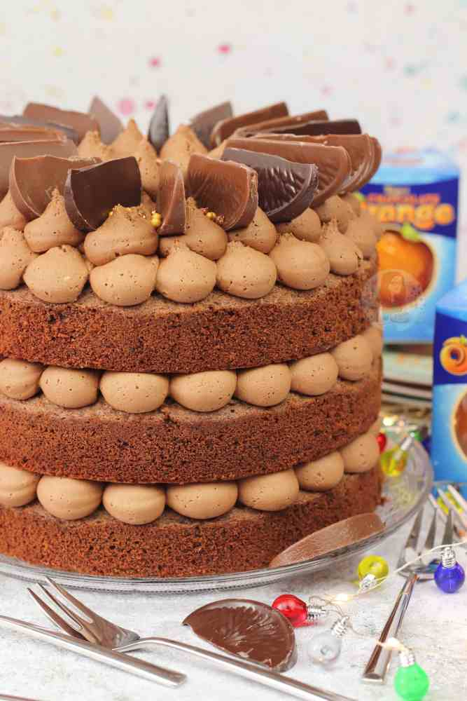Terry S Chocolate Orange Cake Jane S Patisserie