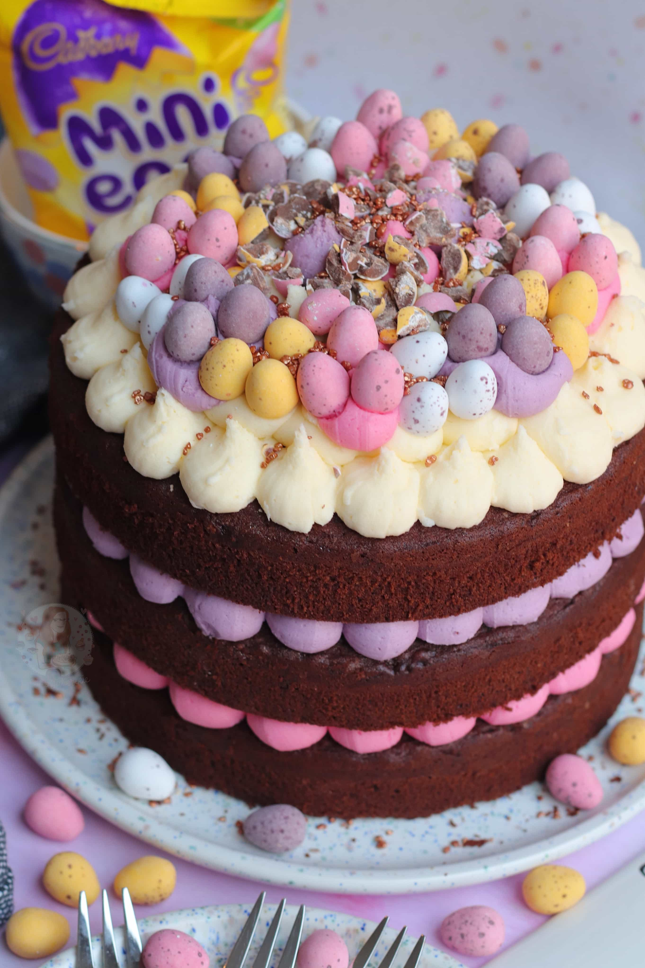 Mini Egg Chocolate Cake Jane S Patisserie