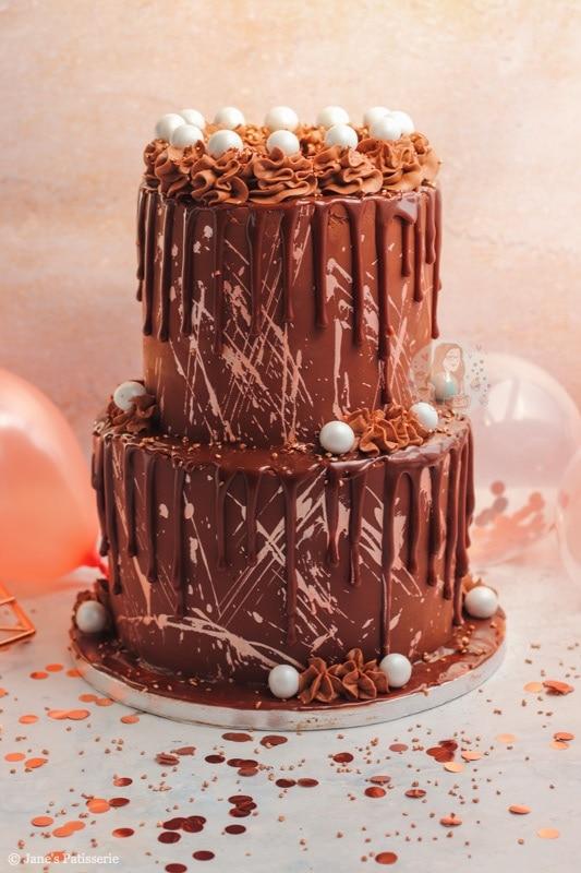 Two Tier Celebration Cake Jane S Patisserie