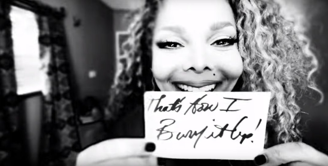 Janet Jackson BurnItUp lyric video